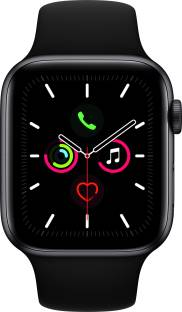 APPLE Watch Series 5 GPS + Cellular 44 mm Space Grey Aluminium Case with Black Sport Band