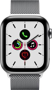 APPLE Watch Series 5 GPS + Cellular 44 mm Stainless Steel Case with Stainless Steel Milanese Loop