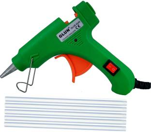 Glun 20W Glue Gun with 5 glue Sticks Standard Temperature Corded Glue Gun