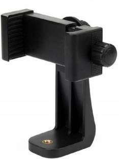 GADGET DEALS Dual-Clip Universal Mobile & Small Size Camera & Selfie Stick Holder Mobile Holder