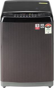 LG 8 kg 5 Star Rating Jet Spray Fully Automatic Top Load Black