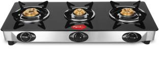 Pigeon Ultra Glass, Stainless Steel Manual Gas Stove