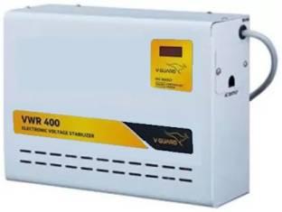 V Guard VWR 400 Plus For Ac upto 1.5 Ton  130V 300V  Voltage Stabilizer
