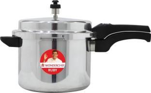 WONDERCHEF Ruby Outer Lid 5 L Induction Bottom Pressure Cooker