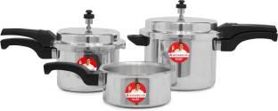 WONDERCHEF Ruby Outer Lid 2 L, 3 L, 5 L Induction Bottom Pressure Cooker