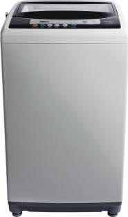 Midea 7.5 kg One Touch AI Wash Fully Automatic Top Load Grey