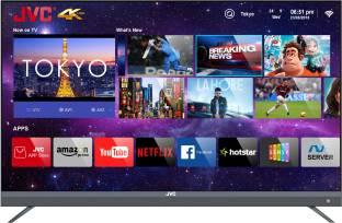 JVC 140 cm (55 inch) Ultra HD (4K) LED Smart TV with Quantum Backlit Technology