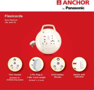 ANCHOR 3381 16 A Three Pin Socket