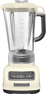 KITCHEN AID Diamond Blender 5KSB1585BAC 550 Juicer Mixer Grinder (1 Jar, Almond Cream)