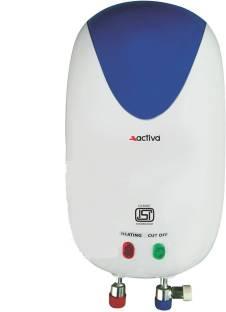 Activa 3 L Instant Water Geyser (PREMIUM, White)