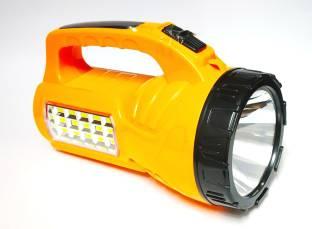 AZACUS 15W Emergency Light Solar + Torch Light Torch