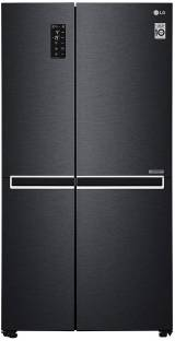 LG 687 L Frost Free Side by Side Inverter Technology Star Refrigerator