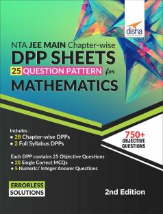 Nta Jee Main Chapter-Wise Dpp Sheets (25 Questions Pattern) for Mathematics