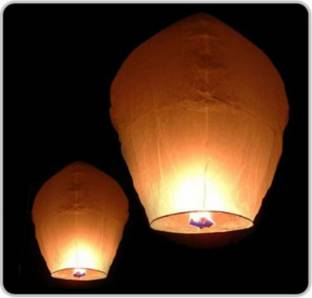 saini sales Multicolor Paper Sky Lantern
