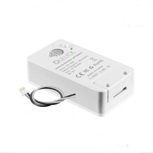 Duluck Smart WiFi IOT Switch, Smart switch, Wifi switch, suitable for Geyser, Lights, Wall sockets, Iron, Air purifier, it Can fix behind the wall switch panel. It works with Alexa & Ok-Google, Capacity up to 3400-watt resistive load. WPC & ETA certified, NOT for AC & Motor, model (PS-1604) Smart Switch