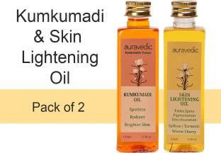 AURAVEDIC Lightening Glow Oils