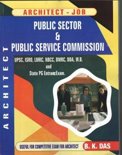 Architect Job (2 ed) for UPSC, ISRO, LMRC, NBCC, DMRC, DDA, West Bengal Municipal Services and State Public Services Commission