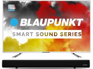 Blaupunkt 109 cm (43 inch) Full HD LED Smart TV with External Soundbar
