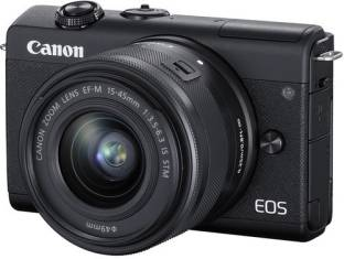 Canon EOS M200 Mirrorless Camera Body with Single Lens (EF-M15-45mm f/3.5-6.3 IS STM)