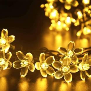 KUBER INDUSTRIES 200 inch Yellow Rice Lights