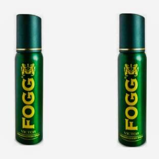 FOGG Victor (Pack of 2) Deodorant Spray  -  For Men & Women