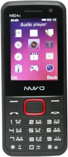 """Nuvo 2.4"""" Display with 2500mAh Battery and Selfie Camera"""