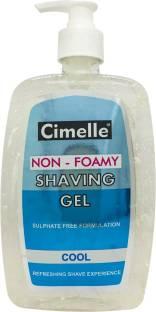 Cimelle Non- Foamy Shaving Gel Cool