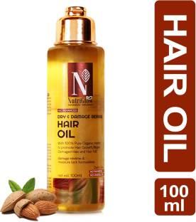 Nutriglow Advanced Organics Bio Advanced Dry and Damage Repair  Hair Oil