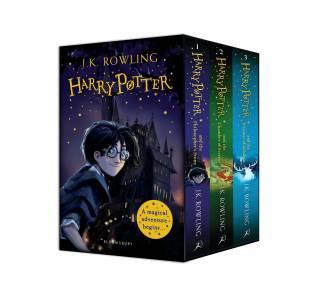 Harry Potter 1–3 Box Set: A Magical Adventure Begins