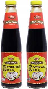 Woh Hup Oyster Sauce 480 Grams (Pack of 2) Sauce