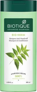 BIOTIQUE Bio Neem Margosa Anti - Dandruff Shampoo & Conditioner 180ml