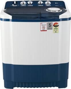 LG 7 kg Semi Automatic Top Load Blue