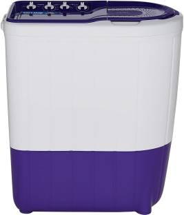 Whirlpool 7 kg 5 Star,Turbo Scrub Technology Semi Automatic Top Load White, Purple