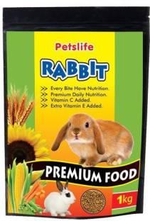 Petslife Premium Food Vegetable 1 kg Dry Young, New Born Rabbit Food