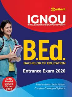 Ignou B Ed Entrance Exam with Solved Paper 2020