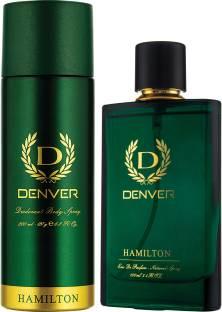 DENVER Hamilton Perfume 100 Ml & Hamilton Deo 200 Ml Combo