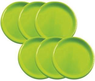 Wonder Plastic Microwave Safe Unbreakable Premium Round Small Plates Dinner Plate