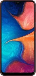 SAMSUNG Galaxy A20 (Red, 32 GB)