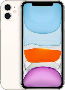 Apple iPhone 11 (White, 64 GB) (Includes EarPods, Power Adapter)