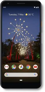 Google Pixel 3a XL (Clearly White, 64 GB)