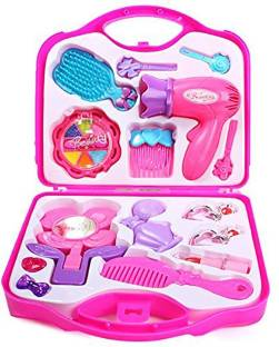 APB TRADERS Beautiful Dream Beauty Makeup Set Suitcase Kit Toys For Kids