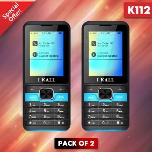 I Kall K112 Pack of two Mobile