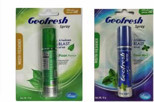 geofresh cool mint and pan Spray Spray