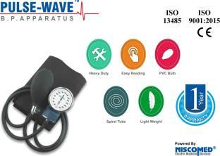 Pulse Wave PW 201 New Sphygmomanometer Aneroid Watch type Blood Pressure Monitor BP Apparatus Bp Monitor