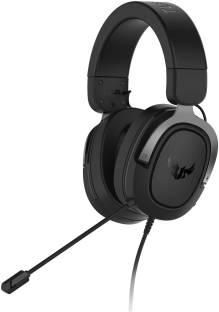 ASUS TUF GAMING H3 GUN METAL Wired Gaming Headset