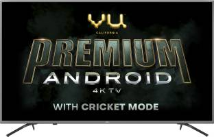 Vu Premium Android 126 cm (50 inch) Ultra HD (4K) LED Smart Android TV with Cricket Mode