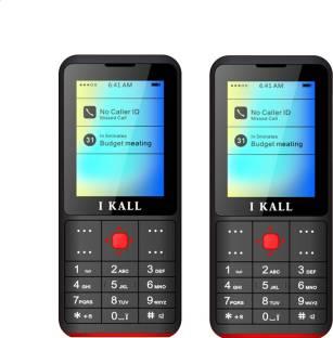 I Kall K111 Combo of Two Mobiles