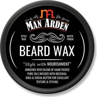 Man Arden Beard Wax - Strong Hold with Matte Finish Hair Wax