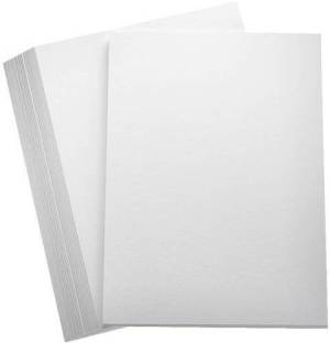 wizards 200 PAGES MULTIPURPOSE UNRULED A4 A4 paper Set of 1, White  wizards Drawing Papers