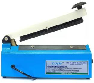 Svojas Sealing Machine 8 Inches Use For Polythen PP, LD, LHD Sealing Machine Table Top Heat Sealer